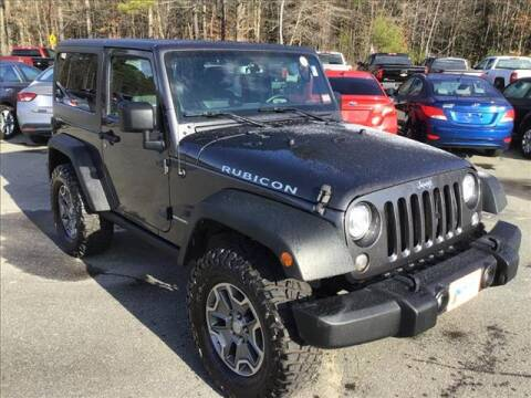 2017 Jeep Wrangler for sale in Newport, NH