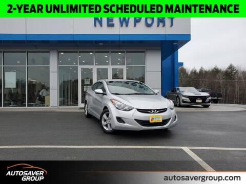 2013 Hyundai Elantra GLS for sale at Newport Chevrolet in Newport NH