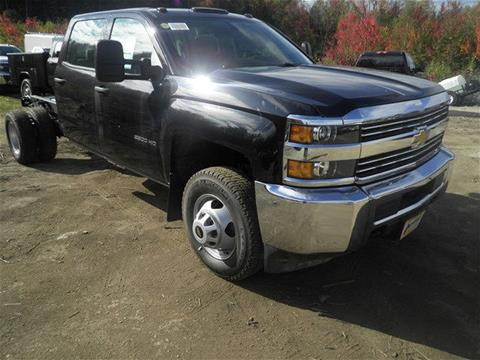 2017 Chevrolet Silverado 3500HD CC for sale in Newport, NH