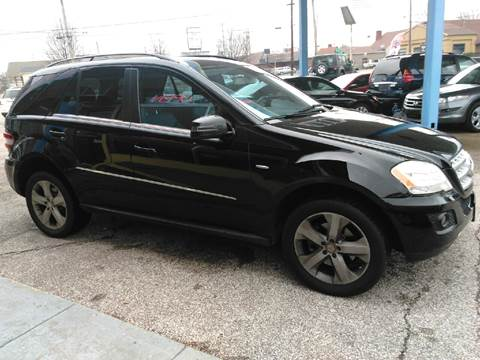 2011 Mercedes-Benz M-Class for sale at P.G.P. Exotic Auto Sales Inc. in Owensboro KY