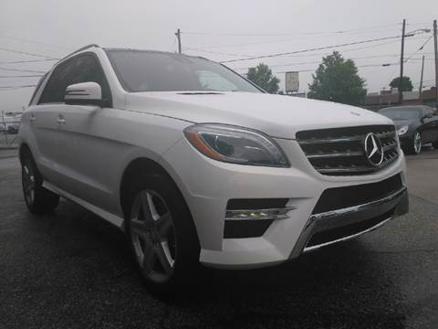 2014 Mercedes-Benz M-Class for sale at P.G.P. Exotic Auto Sales Inc. in Owensboro KY