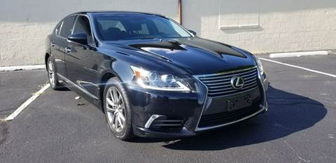 2013 Lexus LS 460 for sale at P.G.P. Exotic Auto Sales Inc. in Owensboro KY