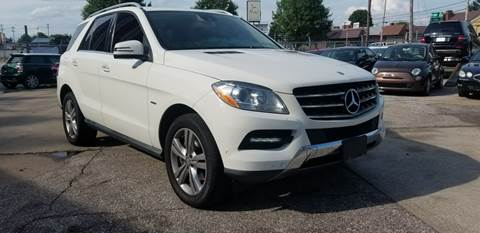2012 Mercedes-Benz M-Class for sale at P.G.P. Exotic Auto Sales Inc. in Owensboro KY