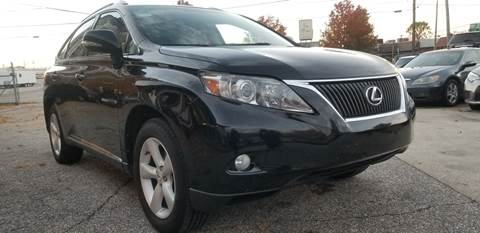2011 Lexus RX 350 for sale at P.G.P. Exotic Auto Sales Inc. in Owensboro KY