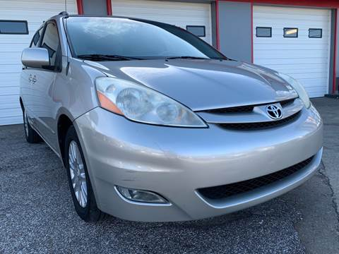 2010 Toyota Sienna for sale at P.G.P. Exotic Auto Sales Inc. in Owensboro KY