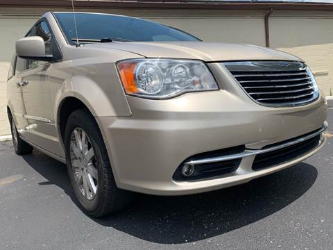 2016 Chrysler Town and Country for sale at P.G.P. Exotic Auto Sales Inc. in Owensboro KY