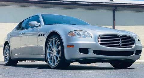 2005 Maserati Quattroporte for sale at P.G.P. Exotic Auto Sales Inc. in Owensboro KY