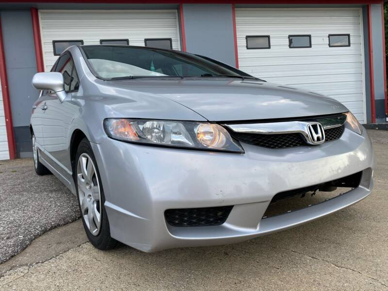 2010 Honda Civic for sale at P.G.P. Exotic Auto Sales Inc. in Owensboro KY