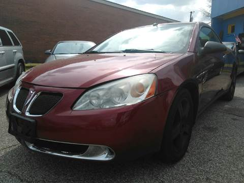 2008 Pontiac G6 for sale at P.G.P. Exotic Auto Sales Inc. in Owensboro KY