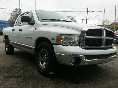 2004 Dodge Ram Pickup 1500 for sale at P.G.P. Exotic Auto Sales Inc. in Owensboro KY