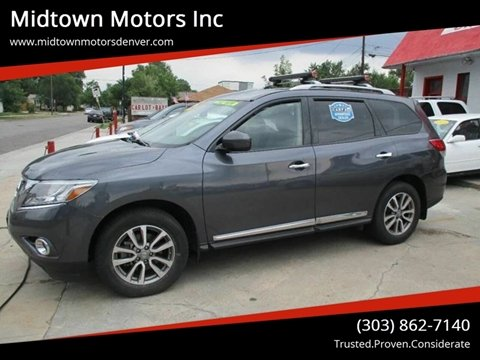 Midtown Motors Inc Used Cars Denver Co Dealer