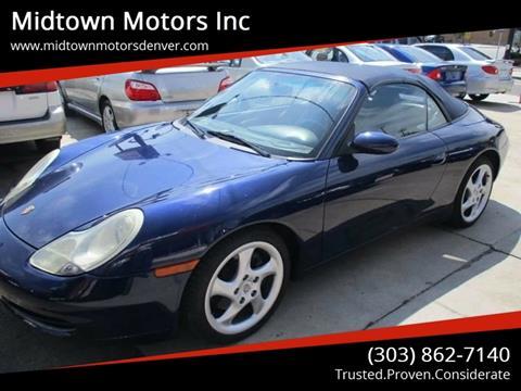 2001 Porsche 911 for sale in Denver, CO