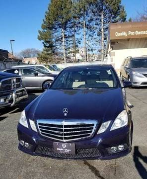 Used 2010 Mercedes Benz E Class For Sale In Massachusetts
