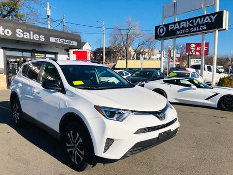 Parkway Auto Sales >> 2016 Toyota Rav4 For Sale In Everett Ma