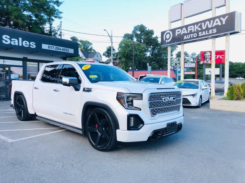 2019 gmc sierra 1500 4x4 denali 4dr crew cab 5 8 ft sb in everett ma parkway auto sales 2019 gmc sierra 1500 4x4 denali 4dr
