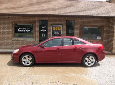 2010 Pontiac G6 for sale in Rosedale, IN