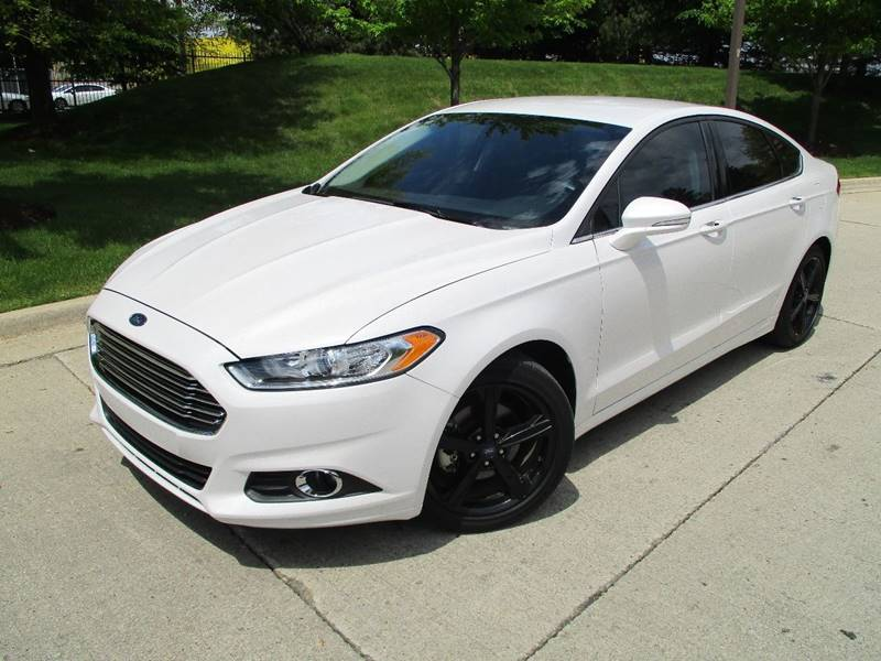 2016 Ford Fusion for sale at Western Star Auto Sales in Chicago IL