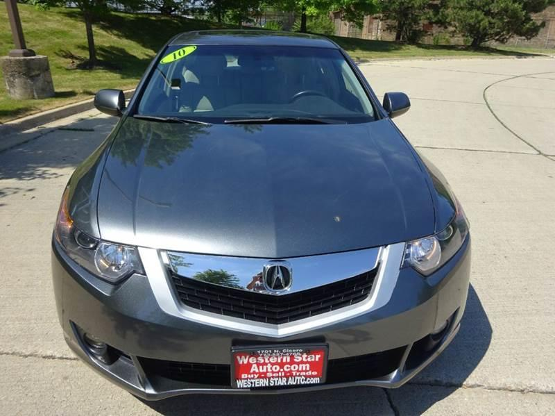 2010 Acura TSX for sale at Western Star Auto Sales in Chicago IL