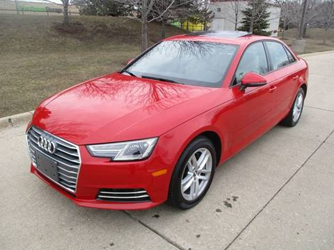 2017 Audi A4 for sale at Western Star Auto Sales in Chicago IL