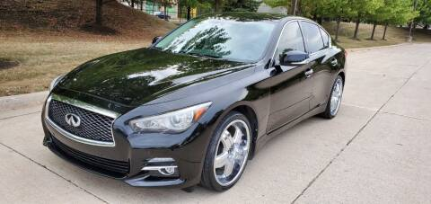 2014 Infiniti Q50 for sale at Western Star Auto Sales in Chicago IL