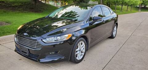 2013 Ford Fusion for sale at Western Star Auto Sales in Chicago IL