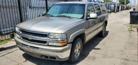 2001 Chevrolet Suburban for sale at Western Star Auto Sales in Chicago IL