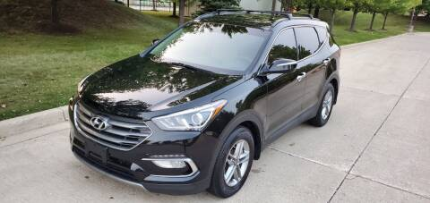 2017 Hyundai Santa Fe Sport for sale at Western Star Auto Sales in Chicago IL