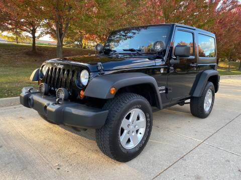 2012 Jeep Wrangler for sale at Western Star Auto Sales in Chicago IL