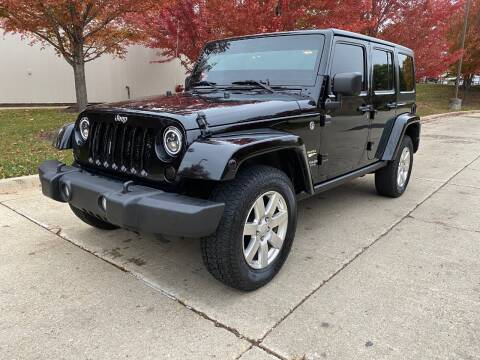 2013 Jeep Wrangler Unlimited for sale at Western Star Auto Sales in Chicago IL