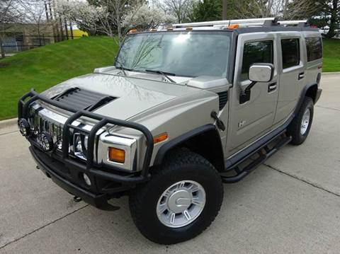 2003 HUMMER H2 for sale at Western Star Auto Sales in Chicago IL