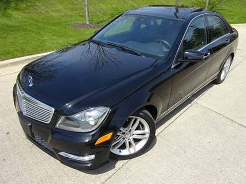 2012 Mercedes-Benz C-Class for sale at Western Star Auto Sales in Chicago IL