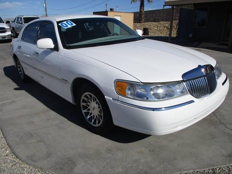 2000 Lincoln Town Car Signature 4dr Sedan In Lake Havasu City Az