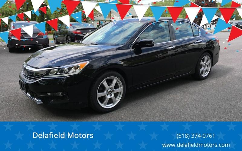 2016 Honda Accord for sale at Delafield Motors in Glenville NY