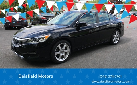 2016 Honda Accord for sale at Delafield Motors in Glenville NY