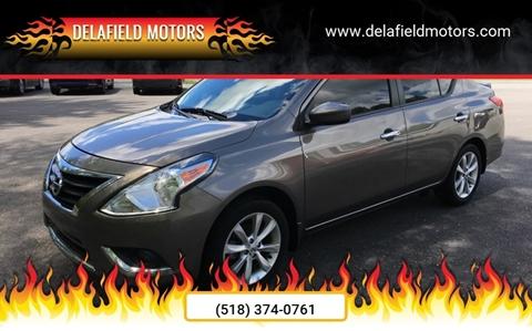 2017 Nissan Versa for sale at Delafield Motors in Glenville NY