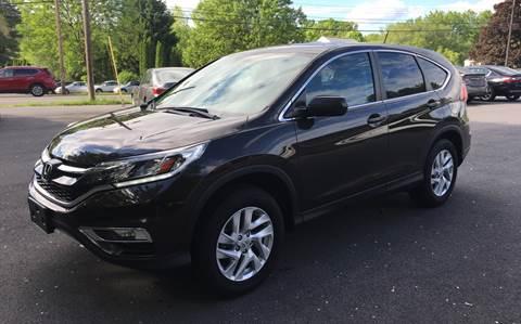 2016 Honda CR-V for sale at Delafield Motors in Glenville NY