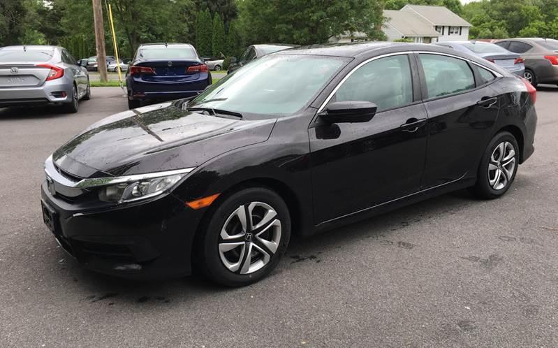 2016 Honda Civic for sale at Delafield Motors in Glenville NY