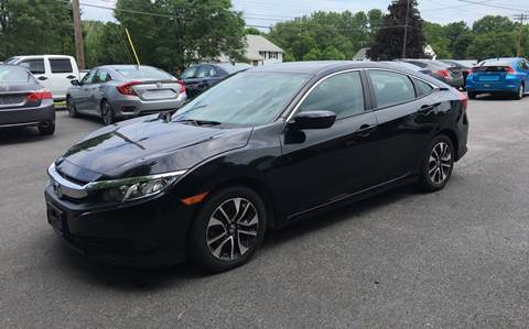 2016 Honda Civic for sale at Delafield Motors in Glenville NY