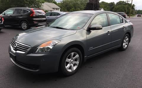 2009 Nissan Altima Hybrid for sale at Delafield Motors in Glenville NY