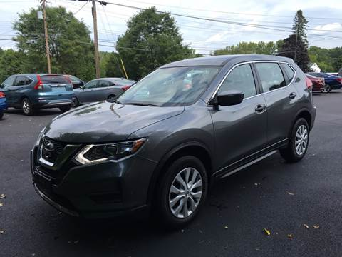 2017 Nissan Rogue for sale at Delafield Motors in Glenville NY