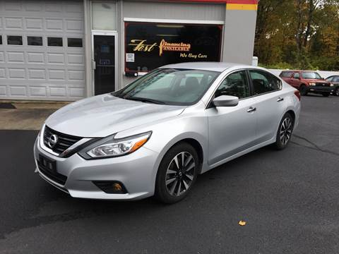 2018 Nissan Altima for sale at Delafield Motors in Glenville NY