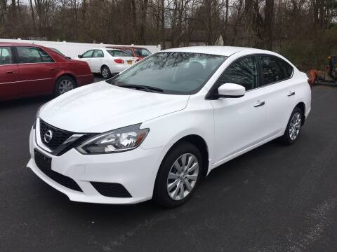 2017 Nissan Sentra for sale at Delafield Motors in Glenville NY