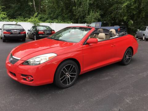 2008 Toyota Camry Solara for sale at Delafield Motors in Glenville NY