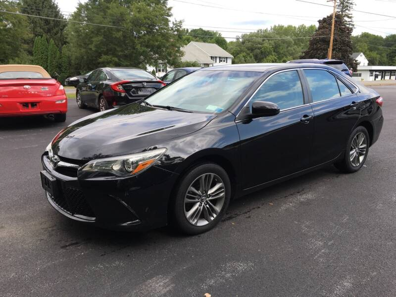 2016 Toyota Camry for sale at Delafield Motors in Glenville NY