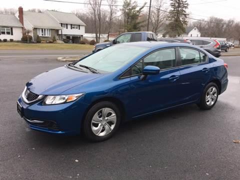 2014 Honda Civic for sale at Delafield Motors in Glenville NY