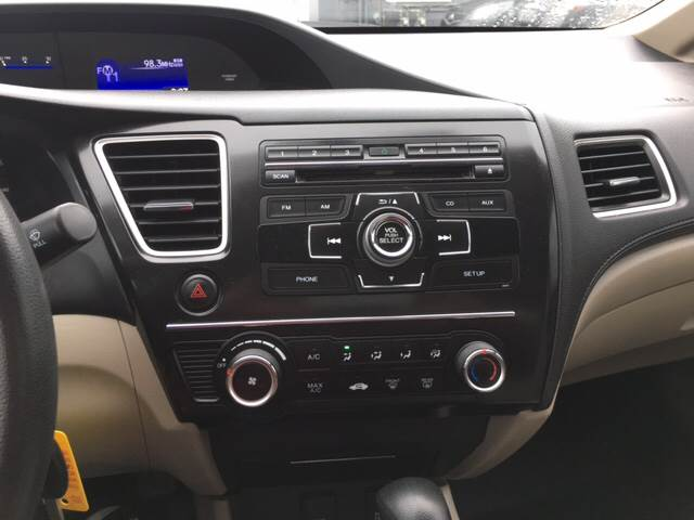 2013 Honda Civic LX 4dr Sedan 5A - Glenville NY