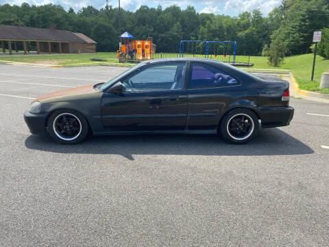 1999 Honda Civic for sale at Superior Wholesalers Inc. in Fredericksburg VA
