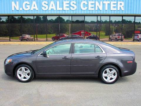 2012 Chevrolet Malibu for sale at NORTH GEORGIA Sales Center in La Fayette GA