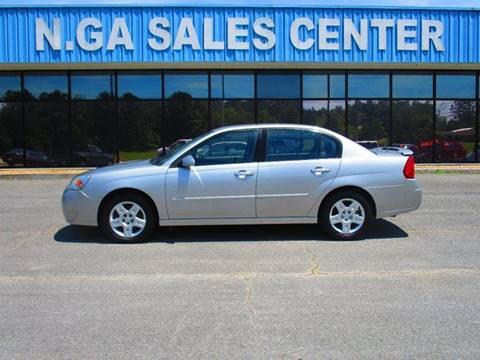 2007 Chevrolet Malibu for sale at NORTH GEORGIA Sales Center in La Fayette GA