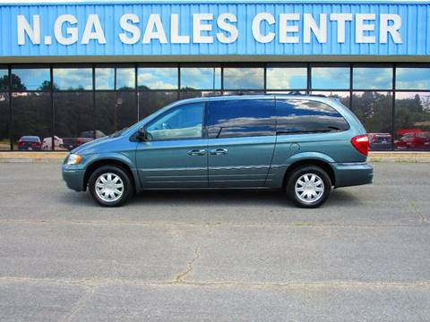 2005 Chrysler Town and Country for sale at NORTH GEORGIA Sales Center in La Fayette GA